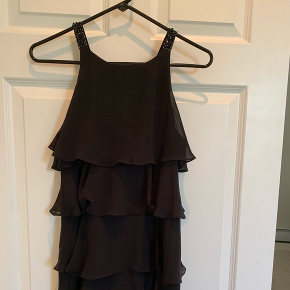 6108e9598913 Dress Barn Dresses | Black Cocktail Dress By Collection | Poshmark